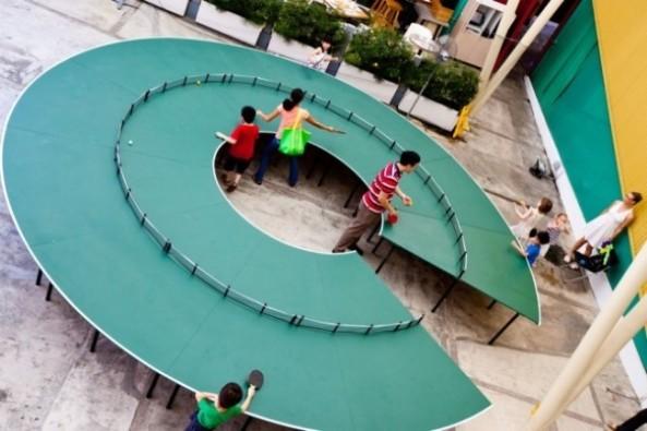 Mesa-circular-Ping-Pong